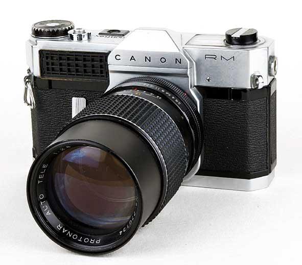 Page du Canon Canonflex RM